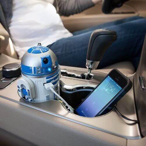 スターウォーズ R2-D2 車載充電器