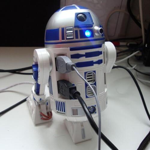 スターウォーズ R2-D2 USBハブ