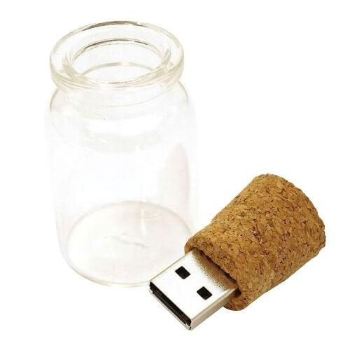 コルク瓶型USBメモリ