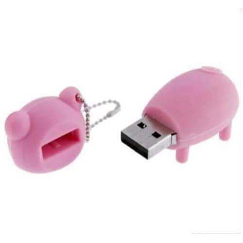 ブタ(4本足)型USBメモリ