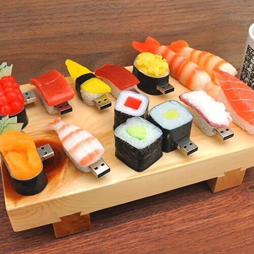 お寿司型USBメモリ